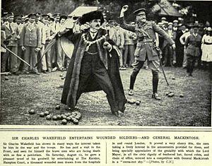 Charles Wakefield, 1st Viscount Wakefield - Sir Charles Wakefield as Lord Mayor of London in 1916 (Illustrated War News)