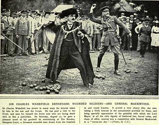 Charles Wakefield, 1st Viscount Wakefield Lord Mayor of London