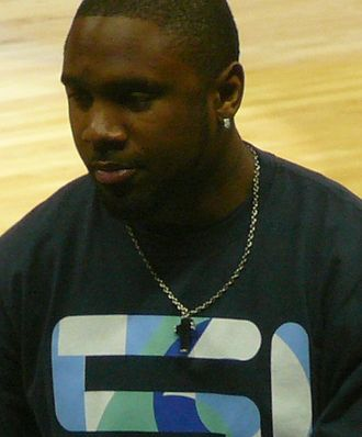 Charles Woodson - Woodson at an Atlanta Hawks game in May 2008