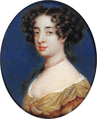 Charlotte Lee, Countess of Lichfield - Charlotte Fitzroy, Countess of Lichfield