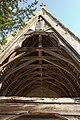 Charpente du porche de l'église Notre-Dame (Ouilly-le-Vicomte, Calvados, France).jpg