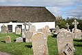 Cheriton Fitzpaine, churchyard - geograph.org.uk - 255020.jpg
