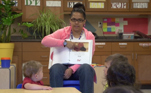 Cherokee Preservation Foundation - The Cherokee language taught to preschoolers as a First language, at Kituwah Academy