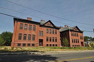 Chapin School (Chicopee, Massachusetts) - Image: Chicopee MA Chapin School