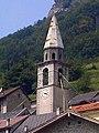 Chiesa dei Santi Gervasio e Protasio, campanile (Erto e Casso) 01.jpg
