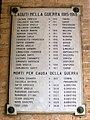 Chiesa di Santa Cristina, ingresso, lapide caduti Prima guerra mondiale (Quinto di Treviso).jpg