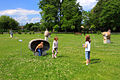 Children playing on the lawn outside the Regional Museum in Stalowa Wola.jpg