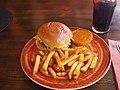 Chili Burger at restaurant Pancho Villa.jpg