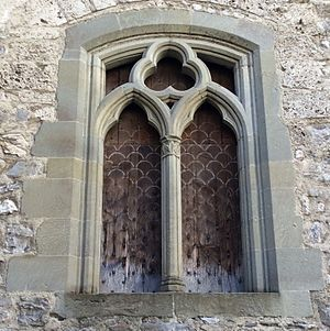James of Saint George - Chillon Castle windows dimensionally match those at Harlech Castle