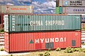 China Shipping - Hyundai 40' Containers - Ho Scale (38363733781).jpg
