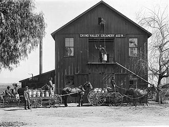 Chino, California - Chino Valley Creamery, c.1900