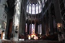 Le chœur de la cathédrale de Clermont