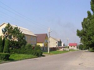 Khotyn - A street in Khotyn