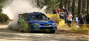 Chris Atkinson - Atkinson at the 2006 Cyprus Rally.