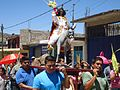 Christ's representation as Lord of the Palm (Señor de las Palmas) on Palm Sunday in Juxtlahuaca, Oaxaca..jpg