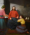 Christ in the house of Martha and Mary. A. Mironov.jpg