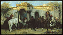 Christian Adolf Schreyer - Arabs in Egypt, Sunrise - Walters 37136.jpg
