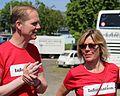 Christian Jensen og Mette Davidsen-Nielsen, Folkemødet 2015.jpg