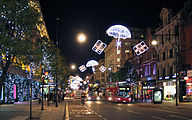 Christmas decorations on Oxford Street, London.jpg