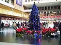 Christmas tree at Taipei Station 1F 20111225.jpg