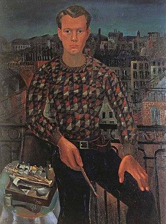 Kettle's Yard - Christopher Wood Self-portrait (1927)