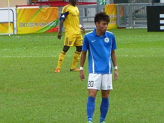 Chuck Yiu Kwok Hong Kong footballer