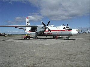 Chukotavia - Antonov An-26 at Ugolny Airport