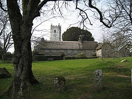 Church Tower and Church House at Manaton - geograph.org.uk - 1233366.jpg