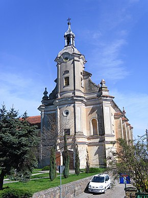Church of the Beheading of St. John the Baptist in Pyzdry, Poland (2011).jpg