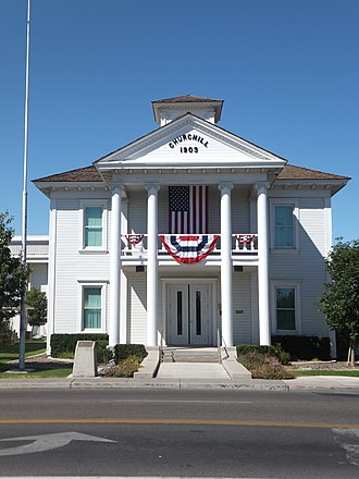 Churchill County Courthouse - Image: Churchill Court House 1