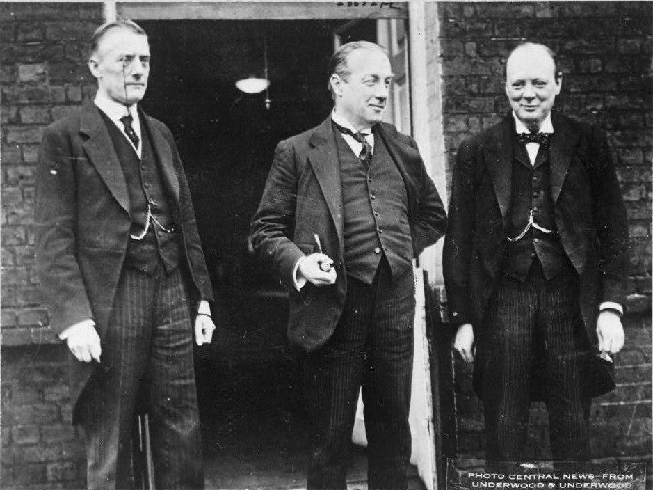 Churchill Chamberlain Baldwin