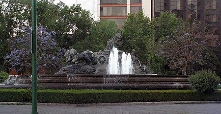 Fuente de Cibeles (Mexico City) - Wikipedia
