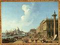 Cimaroli, Piazzetta verso la Dogana.jpg