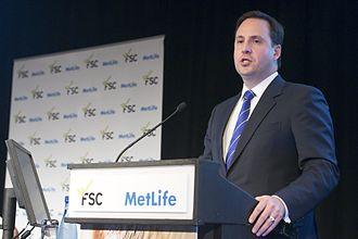 Steven Ciobo - Ciobo addressing a Financial Services Council conference in Sydney.