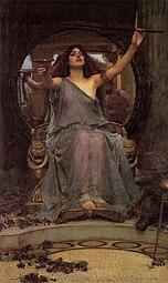 John William Waterhouse: Circe biedt Odysseus de beker aan
