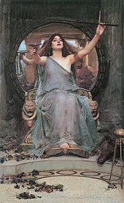 Circe Offering the Cup to Odysseus, by John William Waterhouse.