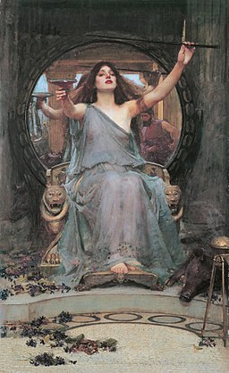 John William Waterhouse, Circe Offering the Cup to Odysseus, 1891, Wikimedia Commons