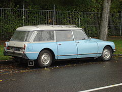 Citroen DS estate Amsterdam 2.jpg