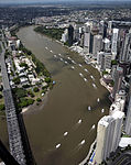 CityCat and City Ferry flotilla returns to the river 14 February (5728367178).jpg