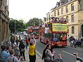 City Sightseeing bus in Oxford, England 14 - Parks Road.jpg