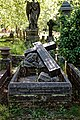 City of London Cemetery Robert Toyne Elizabeth Mary Toyne grave 1 lighter.jpg