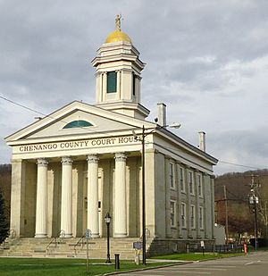 Norwich, New York - Chenango County Courthouse