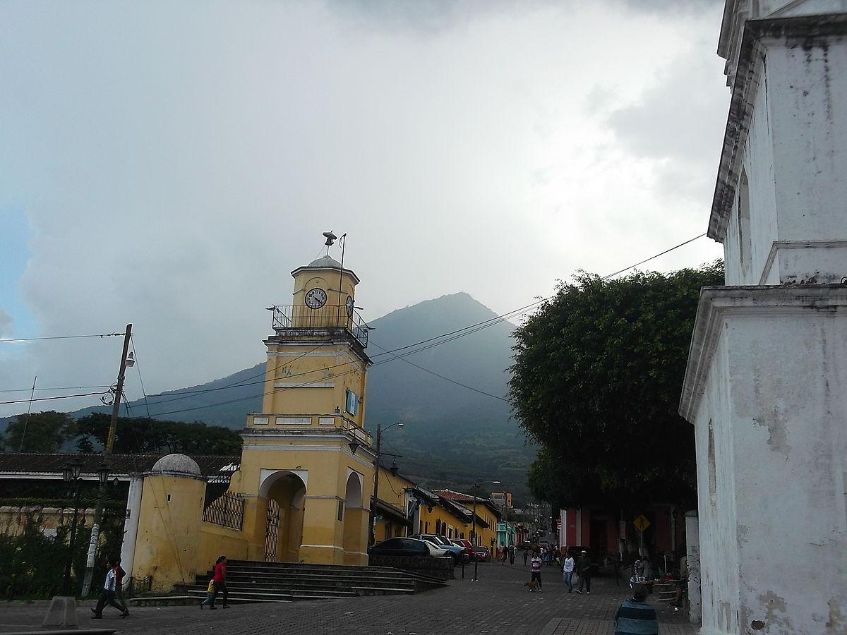 Ciudad vieja guatemala wikipedia la enciclopedia libre for Ciudad santiago villas
