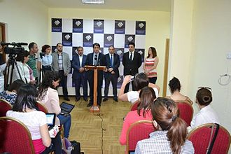 Civil Contract (Armenia) - July 3, 2014 press conference