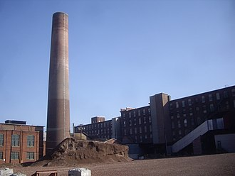 Clark Thread Company Historic District - Image: Clark thread co