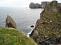 Cliffs of north east Tory Island - geograph.org.uk - 673995.jpg