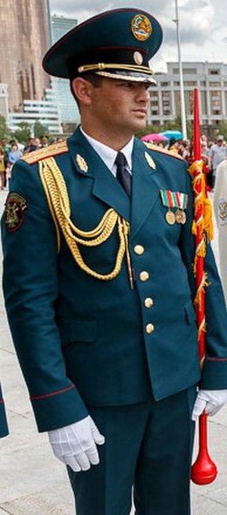 Drum major - Tajik drum major