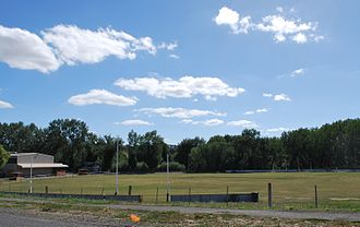 Clunes, Victoria - Clunes Football Ground, home of the Clunes Magpies