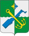 Coat of Arms of Podporozhsky rayon (Leningrad oblast).png