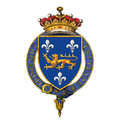 Coat of arms of Frederick North, 2nd Earl of Guilford, KG, PC.png